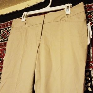 Laundry by Shelli Segal Khaki Ankle Pants